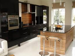 Modern Black Lacquer Kitchens - Black lacquer kitchen cabinets