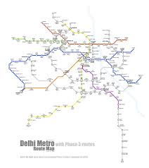 Banglore Metro Route Map by An Unofficial Delhi Metro Route Map Sarson Ke Khet