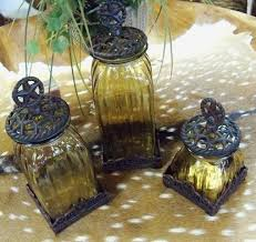 rustic kitchen canister sets glass kitchen canister sets decorating clear
