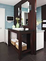back to back sinks double sided vanity contemporary bathroom bhg