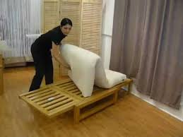 Tri Fold Sleeper Sofa Single Trifold Sofa Bed Demonstration Youtube