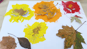reverse fall leaf craft for kids this mama u0027s life