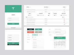 free sketch gui kits for web u0026 mobile design u2013 best of hongkiat