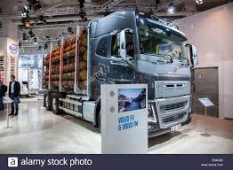 volvo commercial vans volvo fh16 logging truck at the 65th iaa commercial vehicles fair