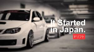 modified subaru car japan drift drifting racing vehicle japanese cars