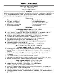 Customer Service Associate Resume Sample Best Guest Service Associate Resume Example Livecareer