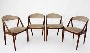 Teak Dining Chairs For Sale Set Of 4 Iconic Kai Kristiansen 42 Rosewood Teak Dining Chairs