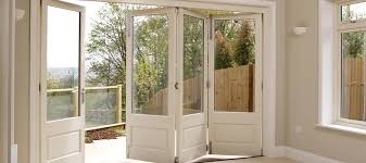Wood Patio Door Town Country Bi Fold Doors Great Entry To The Patio Home