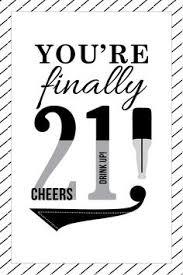free printable 21st birthday greeting card greeting cards