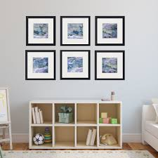 Bedroom Wall Art Sets Set Of 6 Abstract Framed Prints Square 36 38 U2014 Maggie Minor Designs