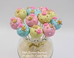 cake pop bouquet high garden cake pops hunny do cake pops