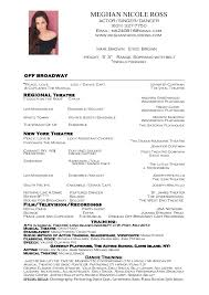 Singer Resume Example by Singer Resume Example Resumecompanion Com Resume Pin Acting