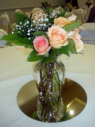 roses centerpieces wedding centerpieces with fresh roses and greens raji