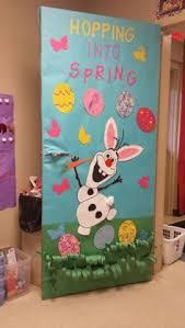 Easter Egg Door Decorations by Spring Door Decor With 2nd Grade Artwork Bulletin Boards