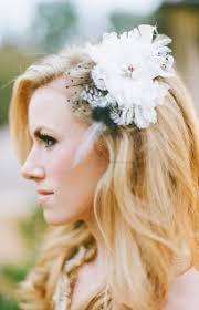 flower hair accessories black and white flower clip bridal hair accessories elizabeth