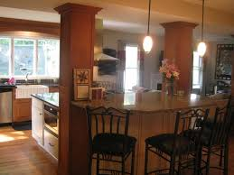 kitchen islands with posts 10 best images of kitchen island with seating ideas with a pole
