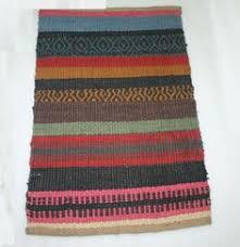 Kilim Bath Mat Indian Natural Jute Bath Bathroom Carpet Doormat Ethnic Kitchen
