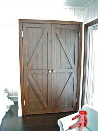 Custom Closet Doors Made Custom Reclaimed Wood Bi Fold Closet Doors For A Luxury