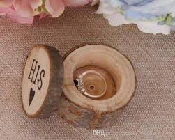 shabby chic svan ring holder images One pair of wood wedding ring box rustic shabby chic wooden box jpg