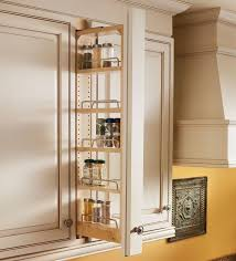 kitchen shelf storage racks upper cabinet pull out spice rack