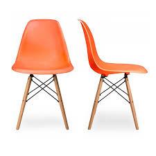 furniture home eamesreg plastic side chair dowel leg charles and