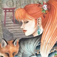 dream of the blue fox tattoo irezumi kitsune japanese fox