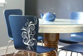 Painting Vinyl Chairs Broadview Heights West Elm Inspired Chairs