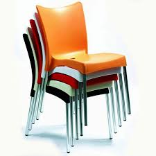 Restaurant Patio Chairs Stacked Juliette Restaurant Cafe Chairs Outdoor Patio