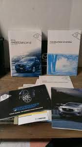 2014 mazda cx 5 cx5 owners manual amazon com books
