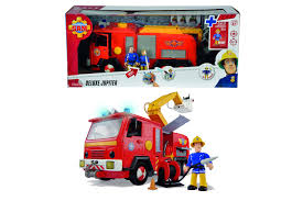 simba fireman sam fire engine jupiter action toys u0026 hero play toys