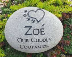 pet memorial garden stones small garden river pet memorial dog or cat