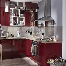 cuisine couleur bordeaux cuisine cuisine couleur bordeaux brillant awesome meuble de cuisine