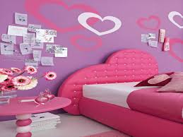 dark pink paint on the wall painting ideas for kid bedrooms red