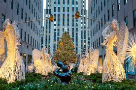lighting of tree at rockefeller center 2017 the rockefeller center christmas tree arrives this weekend new