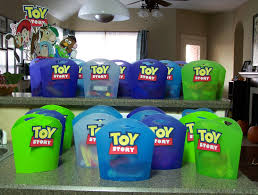 lc card making corner toy story party favors