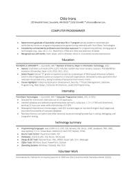 Biology Resume Programming Resume Examples Resume Example And Free Resume Maker