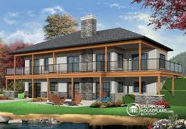 house plans with rear view house plan w3967 detail from drummondhouseplans com