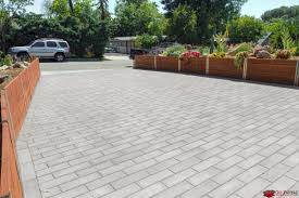 Concrete Driveway Paver Molds by Modern And Simple Driveway Pavers Using Olsen Infinity Plank Flat