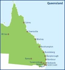 map of queensland queensland failure services queensland health