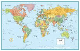 Southern Ocean Map Amazon Com Rand Mcnally Signature United States Usa And World