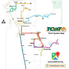 Las Vegas Transit Map by All Tulare County Bus Route Maps Schedules And Timetables Tcag