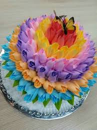 the 25 best flower cakes ideas on pinterest floral cake pretty