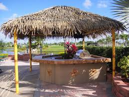 florida tiki huts and tiki bar construction assign commercial