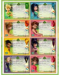 tinkerbell crafts party invitations