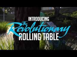 Folding Table With Wheels Folding Table With Wheels Youtube