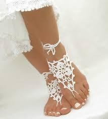 barefoot sandals crochet barefoot sandals best beachy gifts