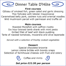 table d hote menu world of cuisines menu and it s types a la carte table d hote and