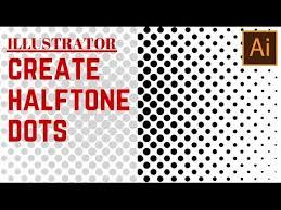 illustrator pattern polka dots create a halftone dot pattern in illustrator turn a gradient