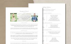 Wedding Day Planner Wedding Planner Pricing Guide Template Eucalyptus