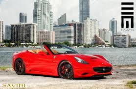 Ferrari California 2013 - california savini wheels
